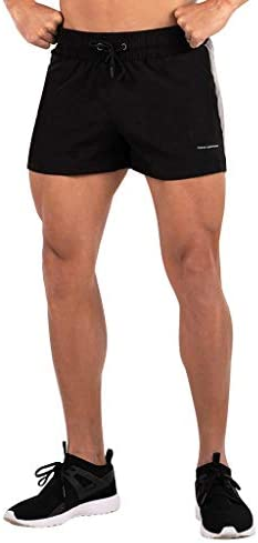 Meigeanfang Mens Sweat Shorts Comfy Breathable Pure Color Bodybuilding Lifting Gym Workout Shorts / Meigeanfang Mens Sweat Shorts Comfy Breathable Pure Color Bodybuilding Lifting Gym Workout Shorts