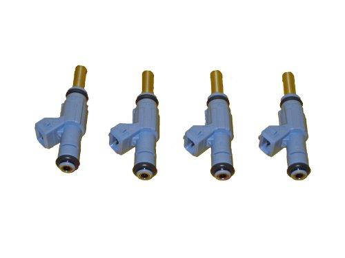 4 Piece Set of Bosch OEM Fuel Injectors # 0280155892 - Audi # 06A906031J - NEW