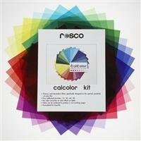 Rosco Calcolor Kit (Thirty Three 10'' X 12'' CalColor Filter Sheets)