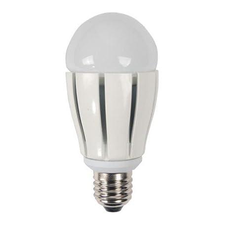 PRESTALED - Bombilla Lámpara LED E27 12 W Blanco Cálido 1000 Lumens.Luz como 100 W halógena o incandescente. Norma CE y RoHS.