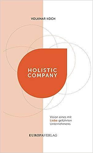 Holistic Company: Vision eines mit Liebe geführten Unternehmens