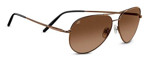 - Serengeti Classic Coll. Medium Aviator Sunglasses Frame 6826 Henna New