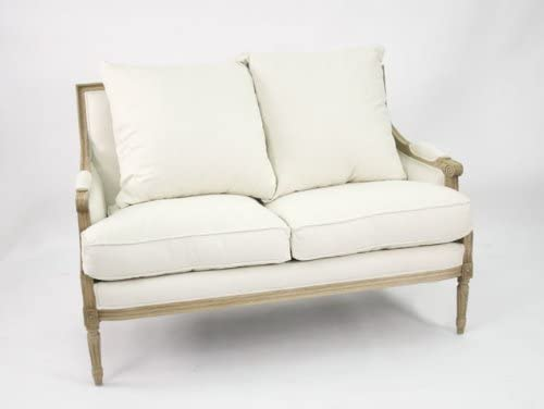 ZENTIQUE French Louis Settee
