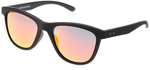 matte Donna Moonlighter Sole 932013 Occhiali Black 53 Nero Oakley Da wgXRqq0