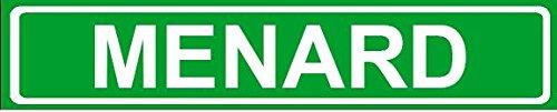 novelty-family-last-name-menard-street-sign-4x18-plastic-wall-art-dcor