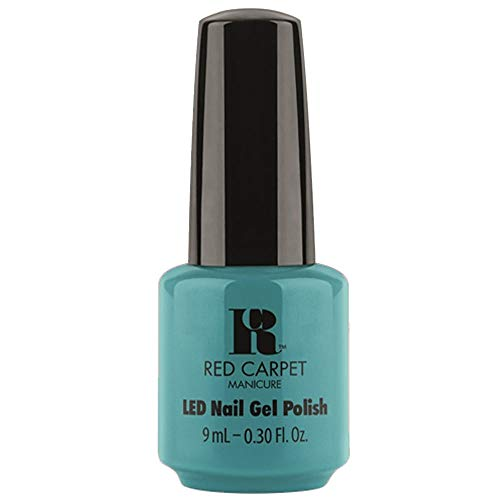 女王ブリークどんなときもRed Carpet Manicure - LED Nail Gel Polish - Poolside Fling - 0.3oz / 9ml