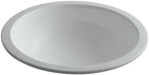 KOHLER K-2349-95 Camber Undercounter Bathroom Sink, Ice Grey