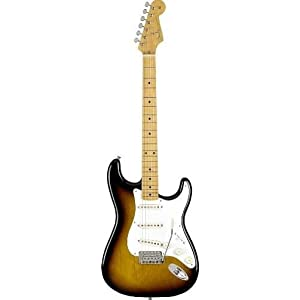 Fender 0131002303 Classic Series '50s Stratocaster Maple Fingerboard 2-Color Sunburst Electric Guitar