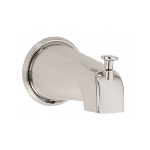 Cifial 289.896.D20 Economy Bathtub Spout with Diverter, Distressed Nickel - Distressed Nickel Tub
