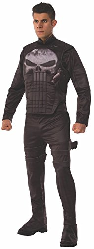 Punisher Costume (Marvel Men's Universe Deluxe Punisher Costume, Multi, X-Large)