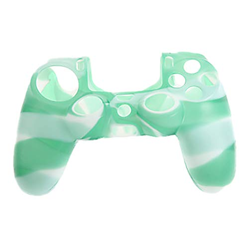 Finedayqi ❤ Silicone Rubber Case Skin Grip Cover for Playstation 4 PS4 Controller (C)