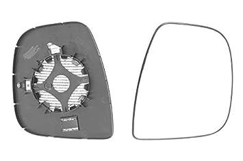 Left passenger side wing mirror glass for Peugeot Partner 2012-On heated Tepee