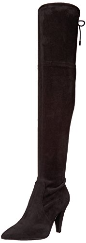 GUESS Women's Norris Over The Over The Knee Boot, Black, 6 M US