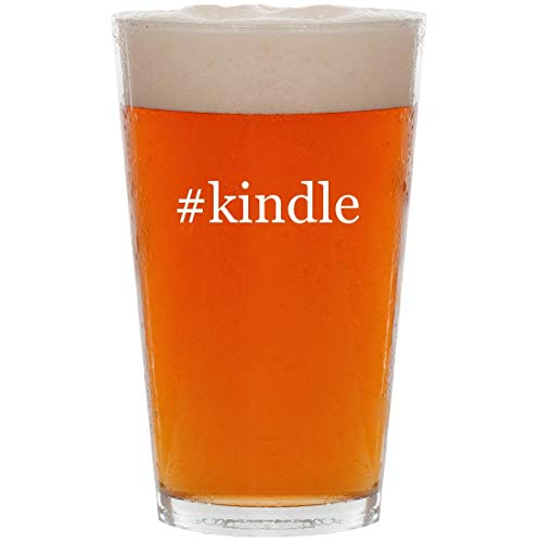 Price comparison product image #kindle - 16oz Hashtag Pint Beer Glass