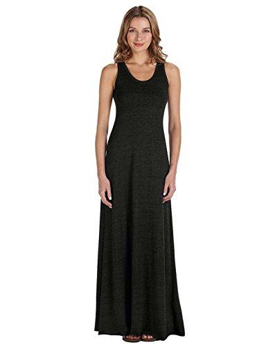 (Alternative Women's Racerback Maxi Dress Eco Black)