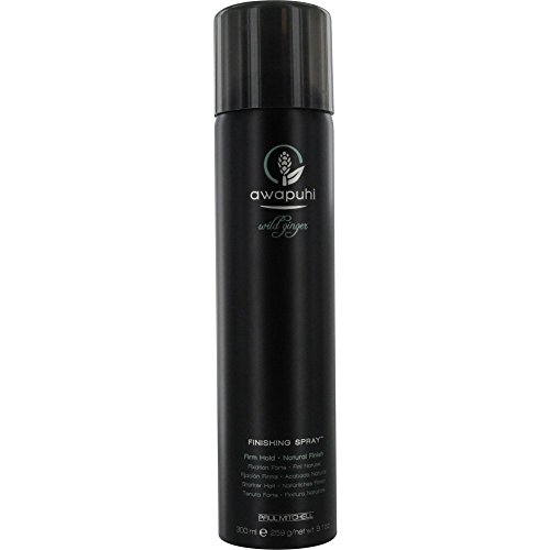 Paul Mitchell by Paul Mitchell Awapuhi Wild Ginger Finishing Spray for Unisex, 9.1 - Paul Spray Mitchell Shine