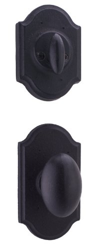 - Weslock 7405M Dummy Castletown Interior Pack Featuring the Durham Knob from the, Black