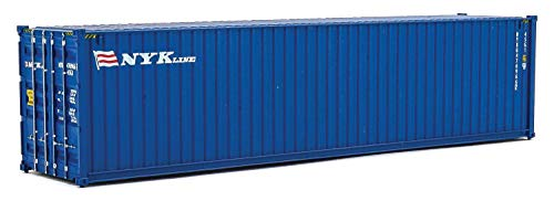 Walthers Trainline 40' Hi-Cube Corrugated Container Nyk Line - Assembled Train Collectable Train