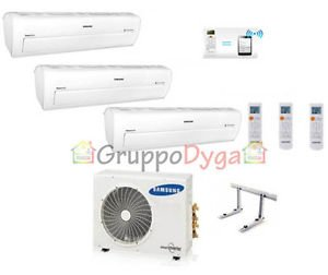 Aire acondicionado Trial Samsung Inverter Serie ar7000 m Smart WiFi 7 + 9 + 12 aj052fcj: Amazon.es: Hogar