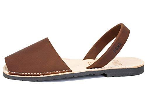 510 - Avarca Pons Classic Style Women - Chocolate - 37 (US 7)