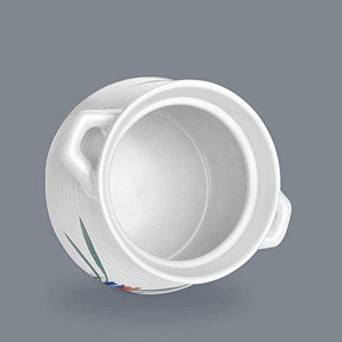 UWY Pot à ragoût en Terre Cuite Casserole Casserole en céramique - Vert et sain, Durable, sans décoloration et sans vieillissement-A_Capacity 2.8L