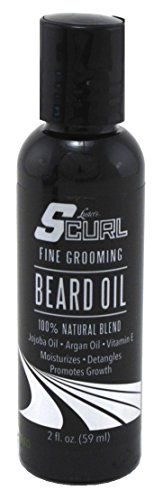 Lusters S-Curl Beard Oil 2 Ounce (59ml) (2 Pack)