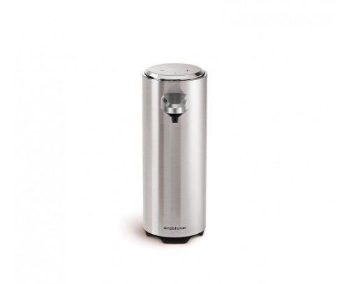 simplehuman 8 oz. Sensor Pump with Soap Sample, Brushed Nickel by simplehuman