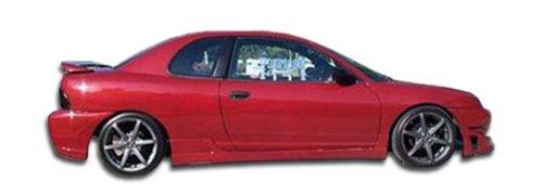 Duraflex Replacement for 1995-1999 Dodge Neon 4DR Buddy Side Skirts Rocker Panels - 2 Piece