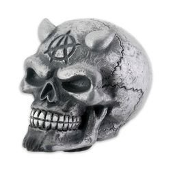 Skull Shift - Chrome Devil Skull Shift Knob For Car