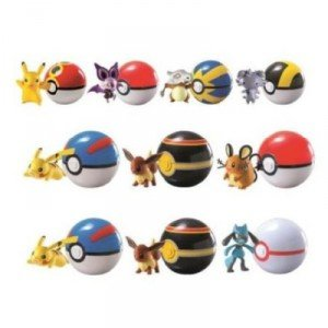 POKEMON-Blister-POKEBALL-PERSONAJE-Figuras-Sortida-ENVIO-ALEATORIO-random-SERIES-CLIP-AND-CARRY