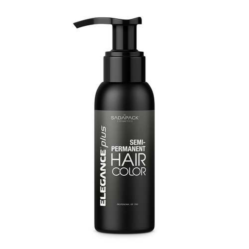 ELEGANCE GEL Semi-Permanent Black Hair Color, Black