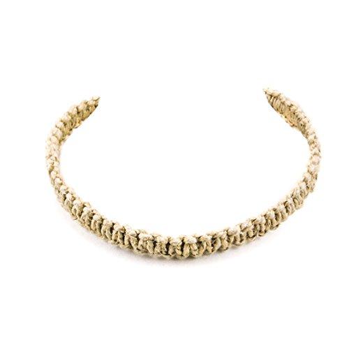 Necklace Hemp Thick (Hemp Choker Necklace Wrap Large)