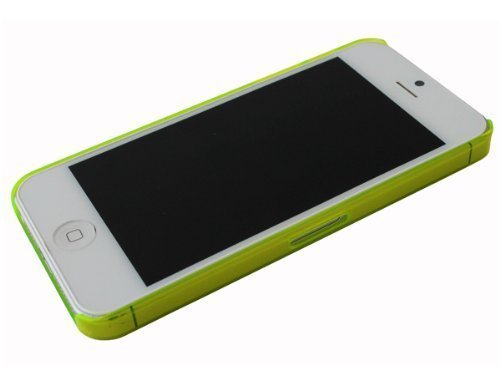 Avcibase 4260344980994 Frost Crystal Etui für Apple iPhone 5 grün
