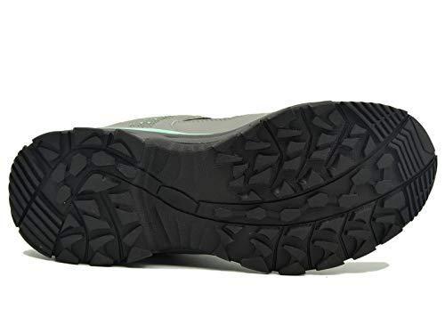 Para Libre 42eu Knixmax Zapatillas botas Montaña Gris Trail Caminar Al Impermeables 36 Deportivos zapatillas Running Trekking Antideslizante verde Senderismo Suela Zapatos De Mujer Aire wxTAx1q