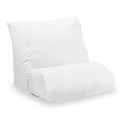 Contour Flip Pillow Case White