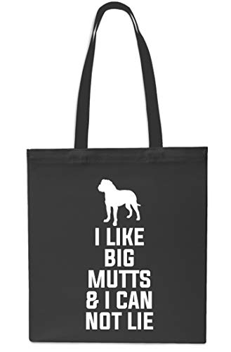Grey I Tote Big I Mutts Lie litres 10 amp; Gym Shopping Black Can Like Not x38cm Bag Beach 42cm Iq8qwA