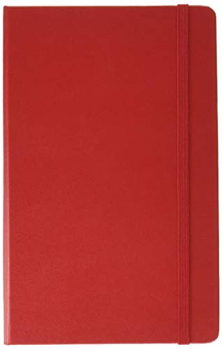 Moleskine 12 Month Daily Planner, Large, Scarlet Red, Hard Cover (5 x 8.25)
