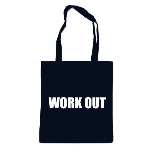 Work Out Workout Bolsa Negro