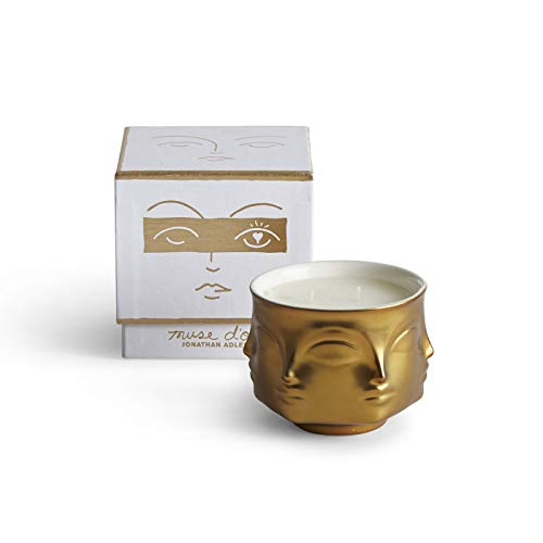 (Jonathan Adler Muse D'or Scented Candle, Gold)