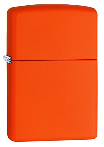Zippo Orange Matte Lighter - - Matte Orange