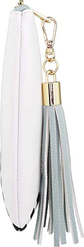B BRENTANO Vegan Clutch Bag Pouch with Tassel Accent (Spearmint) by B BRENTANO (Image #2)