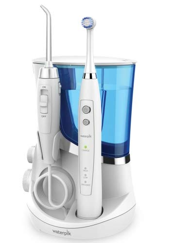 Irrigador combinado Waterpik wp811 Complete Care 5.5 con cepillo y chorro