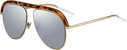 Christian Dior DIORDESERTIC 02IK Havana Gold Aviator Sunglasses for (Christian Dior Sonnenbrille Havana)