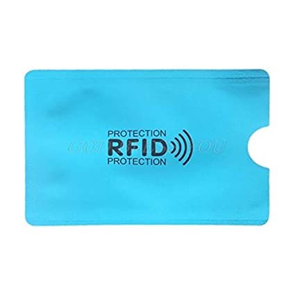 dfb159a6fd2e Storage Bags - Rfid Blocking Sleeve Credit Card Protector Bank ...