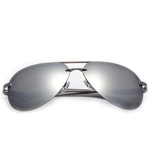 [New Trendy Mens Eyewear Aviator Classic Polarize Frog Mirror Outdoors Texture Sunglasses£¨C2£] (Infant Racing Halloween Costume)