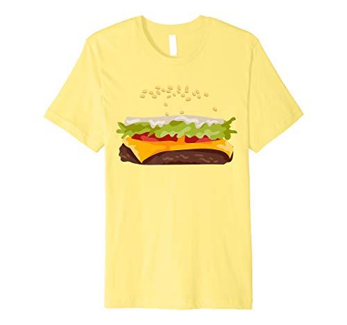 Hamburger Halloween Costume Premium T-Shirt]()