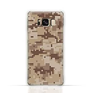 Samsung Galaxy S8 Plus TPU Silicone Case with Desert Military Camouflage Design