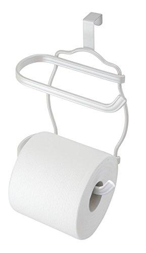 mDesign Double Toilet Bathroom Storage