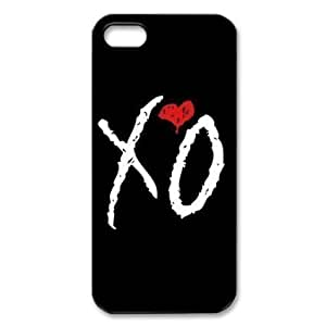 Fun Case (TM) The Weeknd XO iPhone 4 4s Case Hard Protective Back Cover Case for iPhone 4 4s