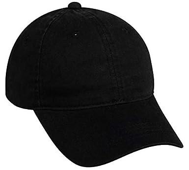 Custom Cotton Twill Adjustable Baseball Cap (Black) - 144 PCS -  9.80 EA -  Promotional Product with Your Logo Bulk Wholesale at Amazon Men s Clothing  store  690505427f2